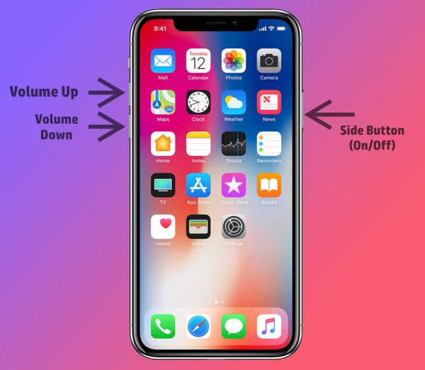 how to place iphone x into DFU mode