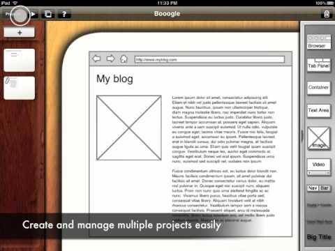 iPad Apps Videos: Twitepad, Carter's Encyclopedia and iMockups Get Demoed