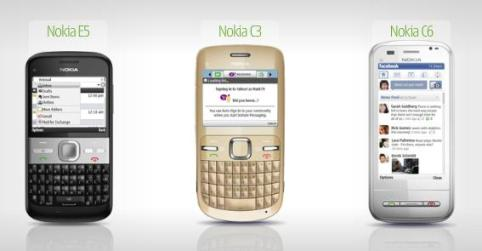 Everyone Connect: Nokia announces 3 News Models – Nokia E5, Nokia C3, Nokia C6