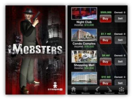 Android Game: iMobsters – The Most Popular Game