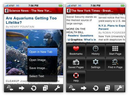 Apple Approves OperaMini for iPhone