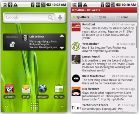 New Seesmic v1.3: One of best twitter apps for android