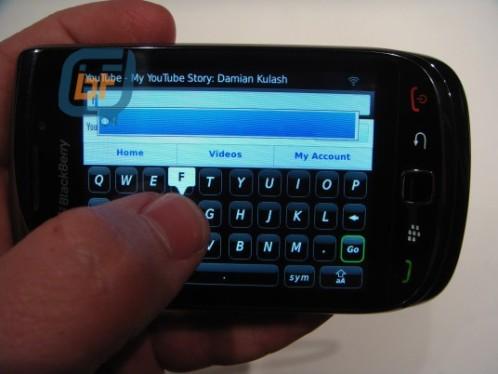 More Specifications of BlackBerry Bold 9800 Slider Revealed
