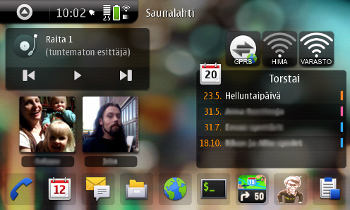 an-Droid Theme for Nokia N900: Make your N900 look like Android Phone