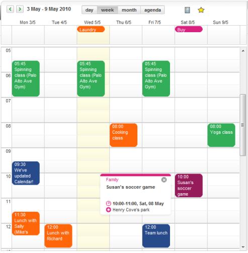 Ovi Calendar 1.6 Beta Comes out with Multiple Calendars