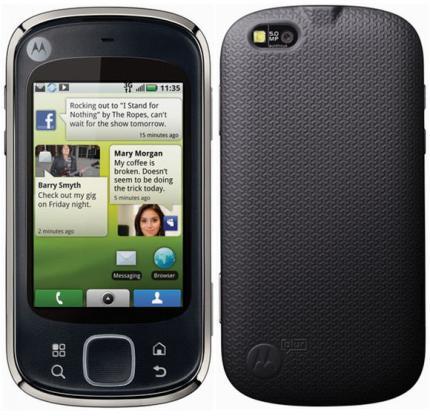 Motorola Cliq XT gets Android Update