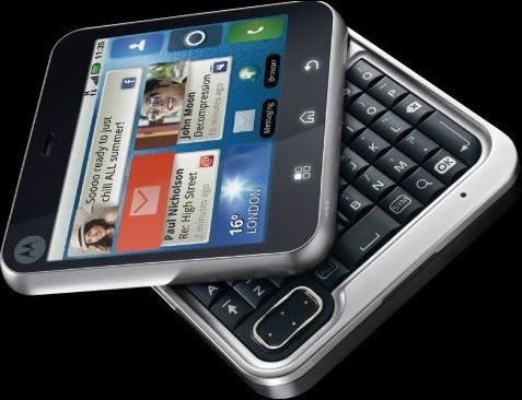 Motorola Flipout based on Android 2.1 with a Twist