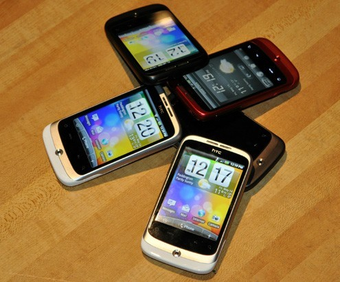 Android 2.1 based HTC Wildfire Announced
