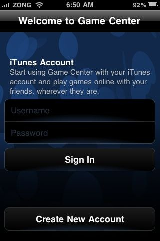 Game Center in iOS 4