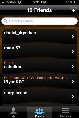 Game Center in iOS 4 (2)