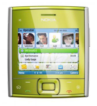 Nokia-X5-green