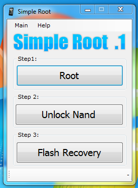Simple Root .1: Root and Unlock HTC Evo 4G with One Click