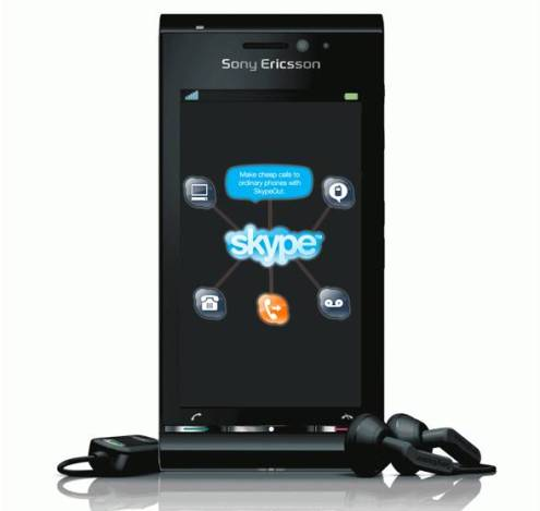 Skype For Sony ericsson