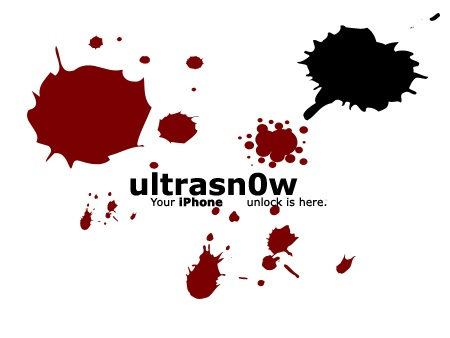 unlock iPhone 3gs ultrasnow 1.0