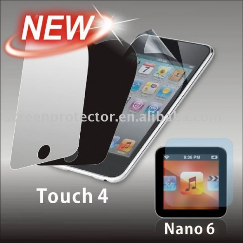 iPod Touch 4 and iPod Nano 6 Accessories Leak