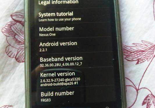 Android-2.2.1-Nexus-One