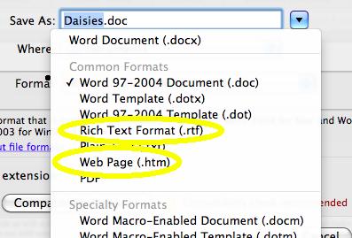 convert doc for ibooks
