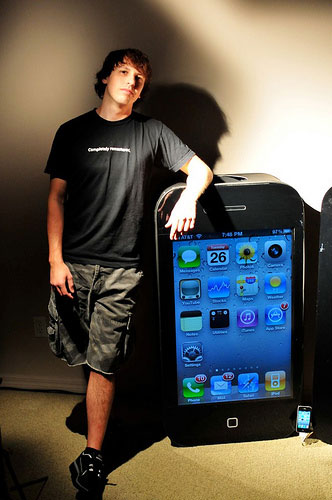 iphone 4 halloween costume