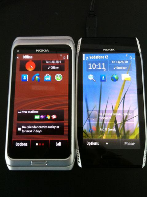 nokia N8 vs Nokia X7