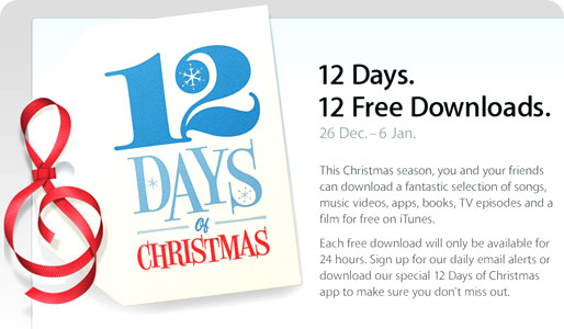 free download from app store at Christmas