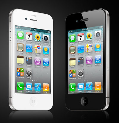 iPhone 4 (image taken from iPhone 4 official site)