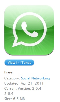 whatsapp download ios