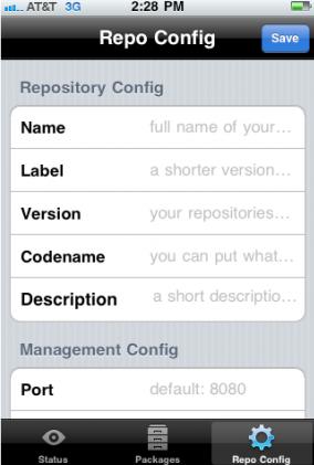 iRepo-screenshots enter description