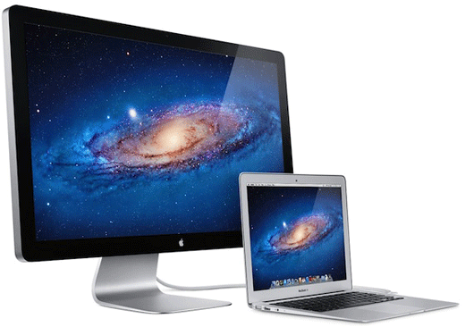 MacBook Air Thunderbolt Display