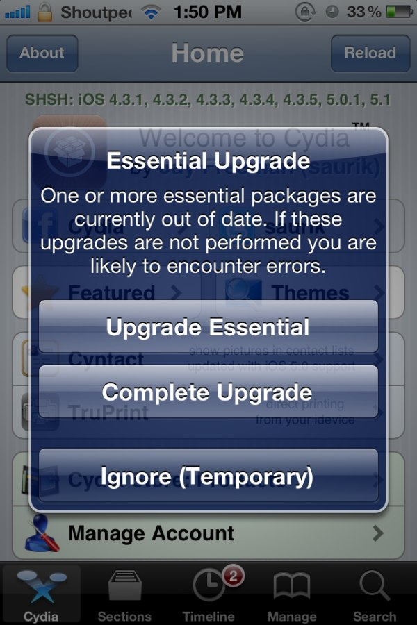 Jay Freeman Releases Cydia 1.1.6 for All iDevices