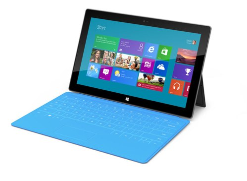 Microsoft Announces Windows 8 Based Surface Tablet
