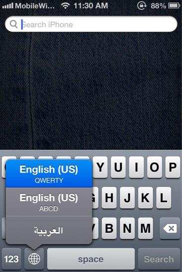 Add ABCD Keyboard Layout to iPhone/iPad to Help Kid Learn English Fast