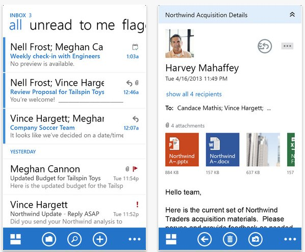 Official Microsoft Outlook Web App for iPhone and iPad Released