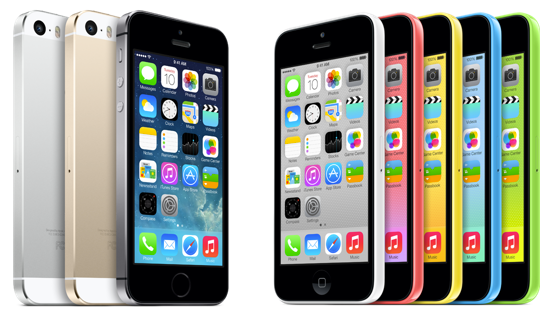 iPhone - iPhone 5s and iPhone 5c