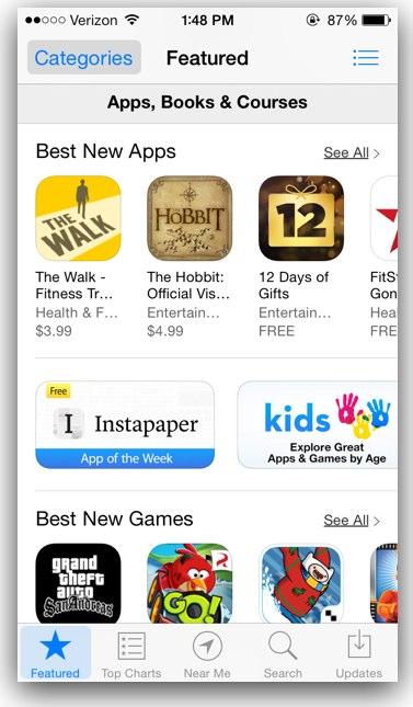 Button Shades in iOS 7.1