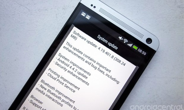 Android 4.4.2 rollout for HTC One begins in parts of Europe