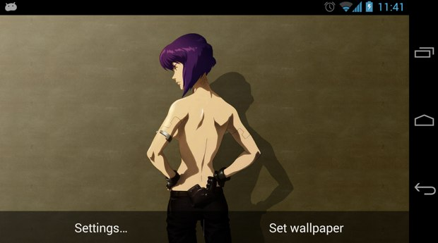 Motoko Parallax Live Wallpaper - Android Apps on Google Play
