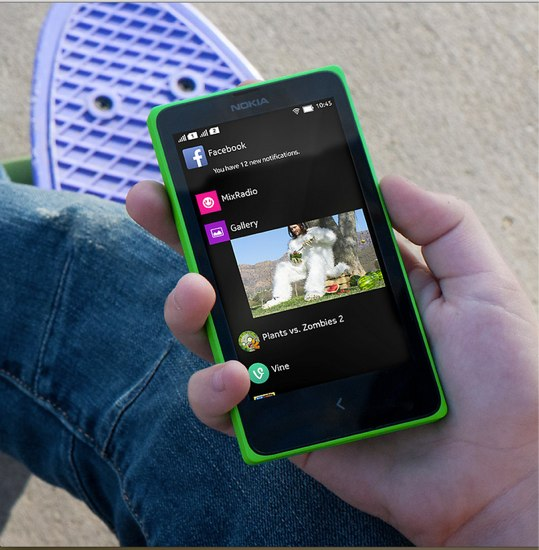Nokia X dual SIM Fastline