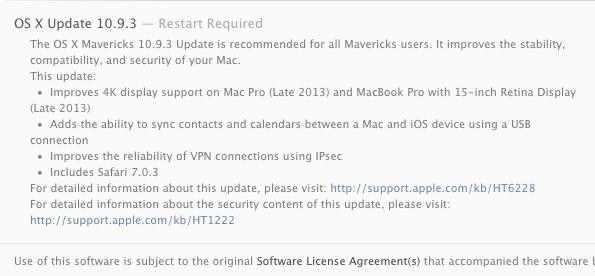 OS X Update 10.9.3
