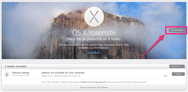 Mac Os X 10.10 Yosemite Free Download