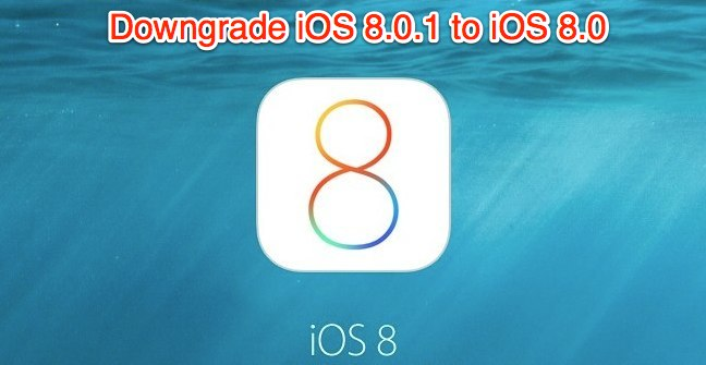 downgrade-iOS-8.0.1