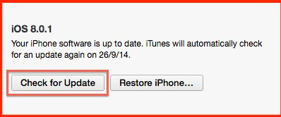 Solve No Service Issue on iOS 8.0.1 by Downgrading