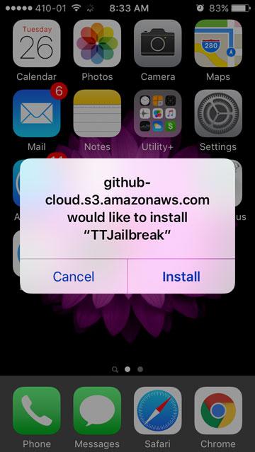 Pangu iOS 9.3.3 Jailbreak