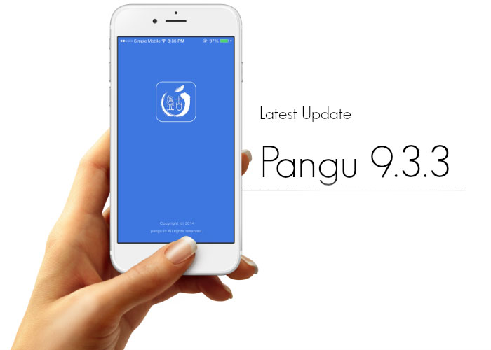 Jailbreak iOS 9.3.3 without PC Mac Using Pangu