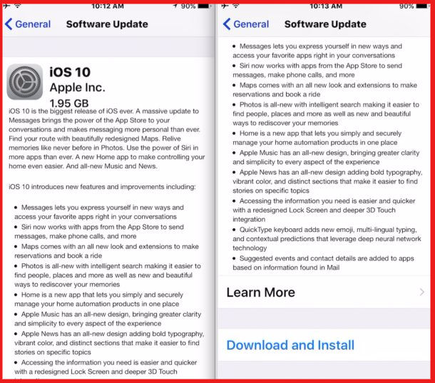 Prepare for iOS 10