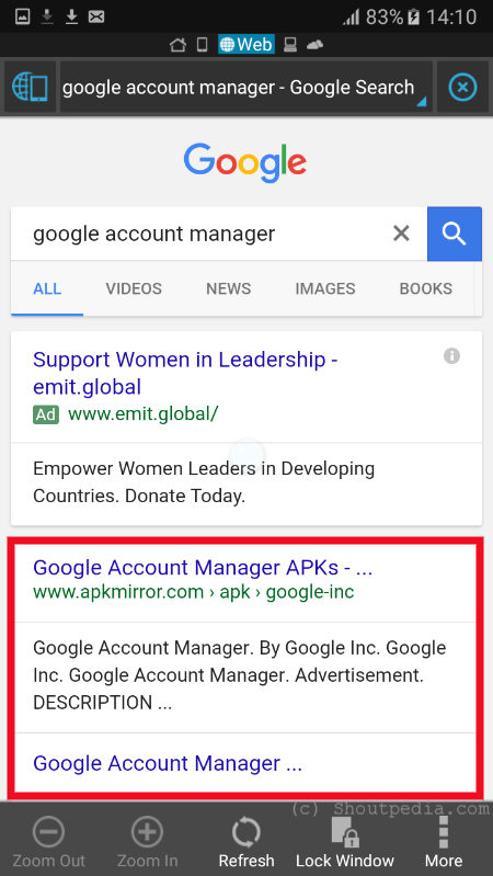 compatible google account manager apk