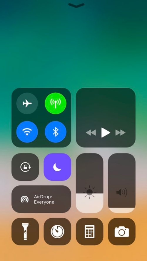 ControlCenter 11 on iOS 10