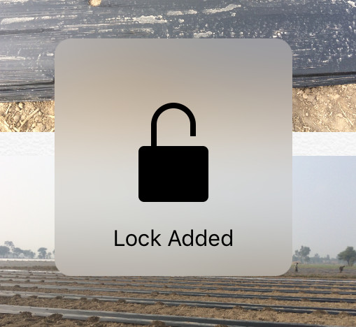 how to password protect photos on iphone