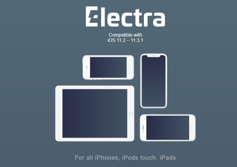 Use of electra as iOS 11.3.1 jailbreak