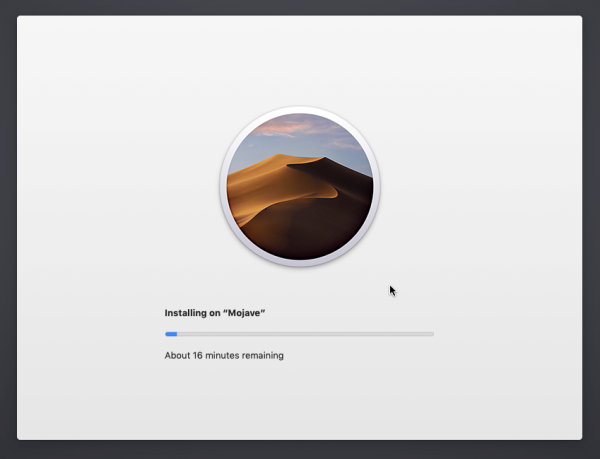 installing mojave