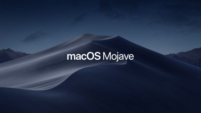 installing macos mojave on unsupported macbook pro